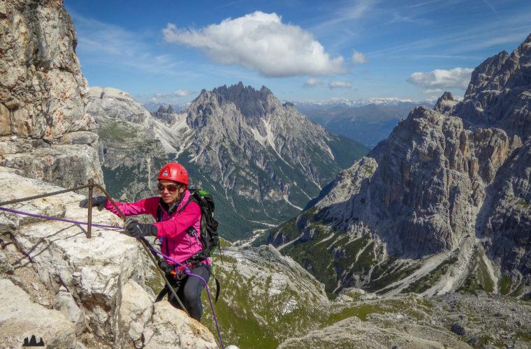 Klettersteig Paternkofel - via ferrata Monte Paterno-9