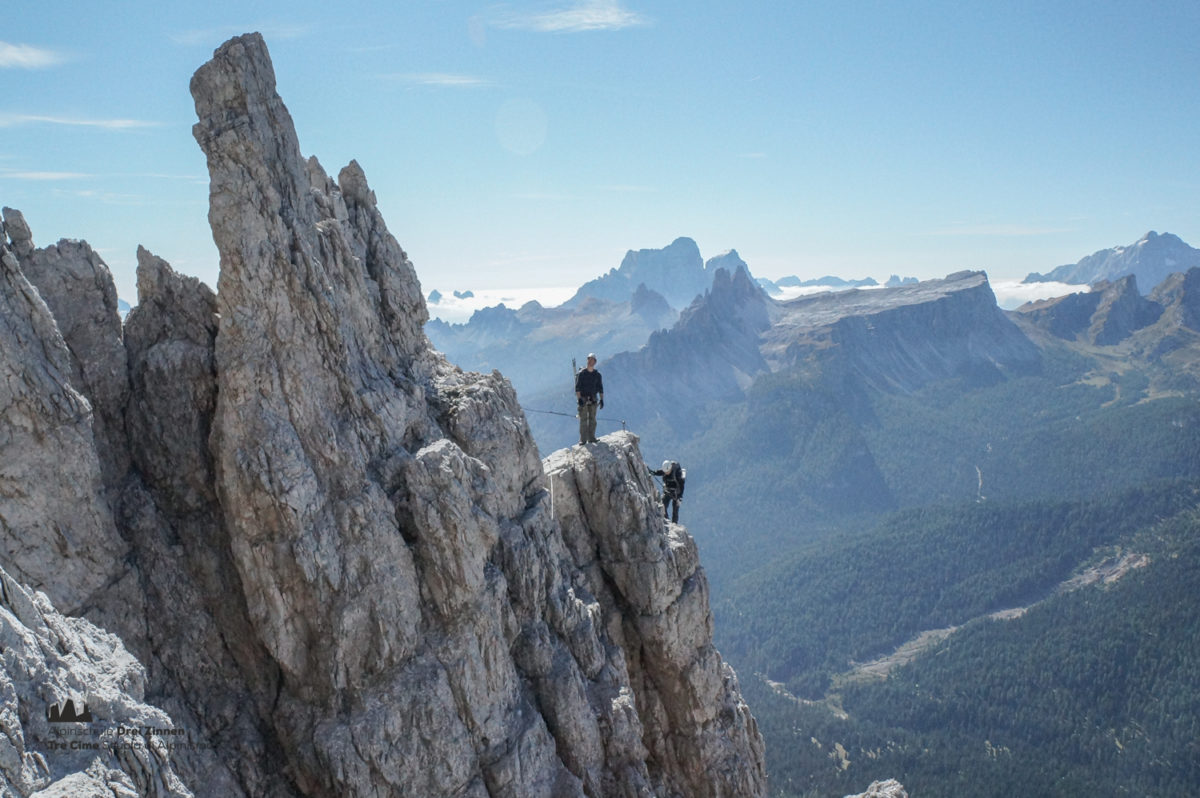 Klettersteig Ferrata : Klettersteig punta anna via ferrata olivieri alpinschule dreizinnen