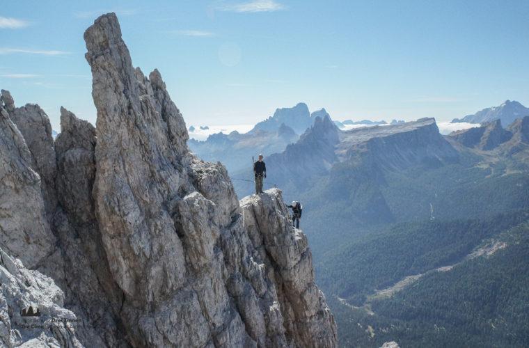 Klettersteig Punta Anna via ferrata-3