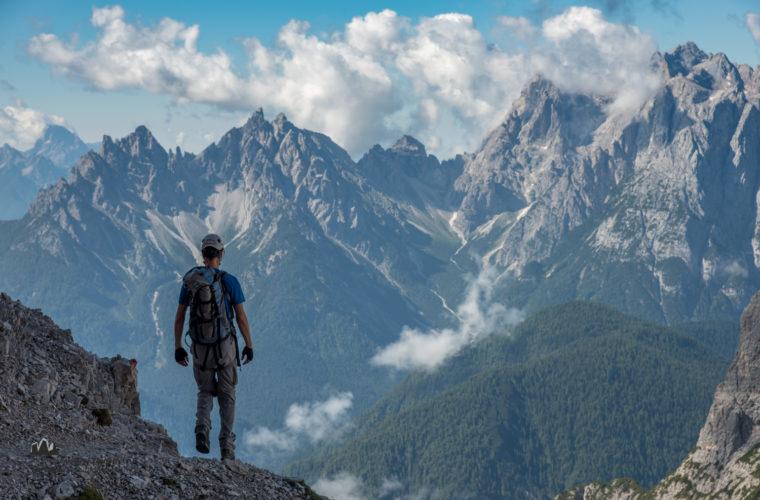 Klettersteig Roghel Cengia Gabriella via ferrata-1