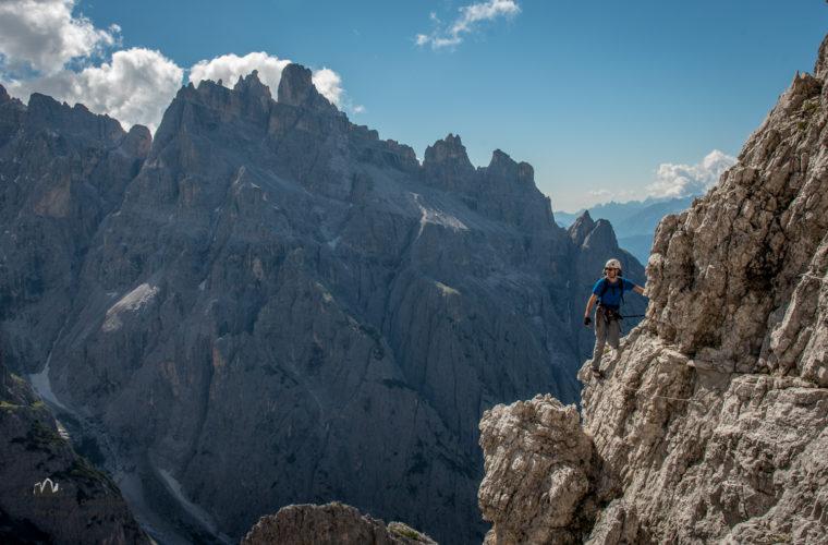 Klettersteig Roghel Cengia Gabriella via ferrata-2