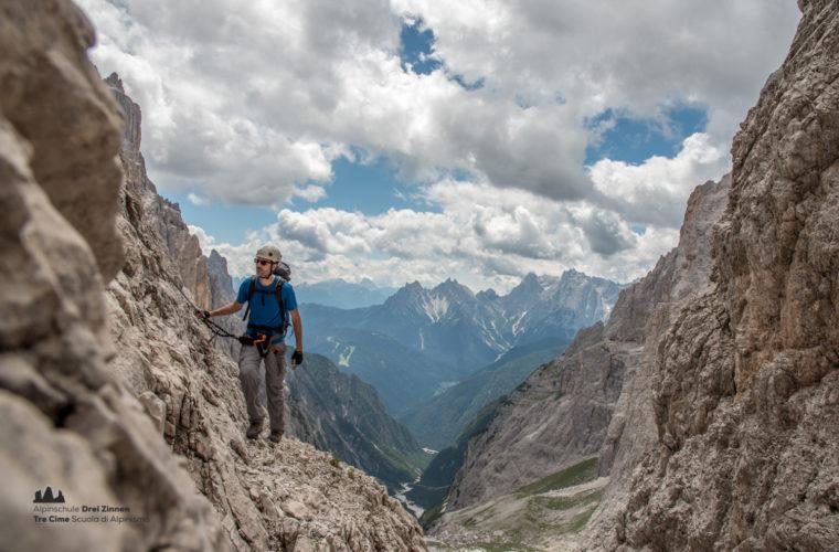 Klettersteig Roghel Cengia Gabriella via ferrata-5