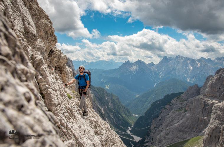 Klettersteig Roghel Cengia Gabriella via ferrata-6