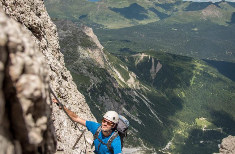 Klettersteig Roghel Cengia Gabriella via ferrata-7