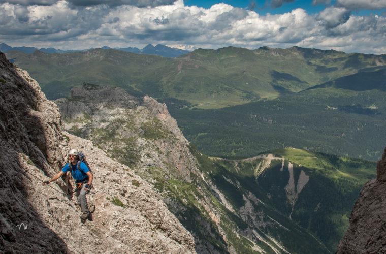 Klettersteig Roghel Cengia Gabriella via ferrata-8