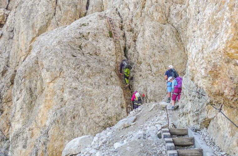 Klettersteig Rotwandspitze - via ferrata Croda Rossa-1