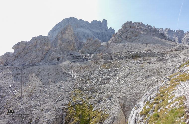 Klettersteig Rotwandspitze - via ferrata Croda Rossa-2