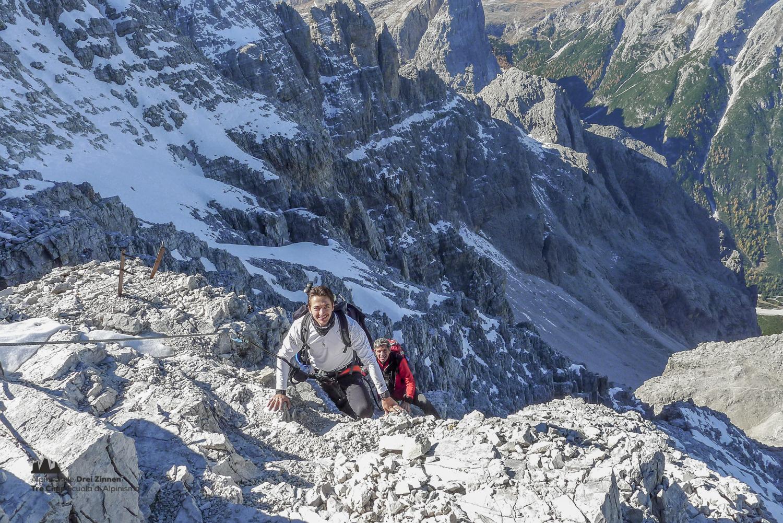 Klettersteig Drei Zinnen : Klettersteig rotwandspitze via ferrata croda rossa