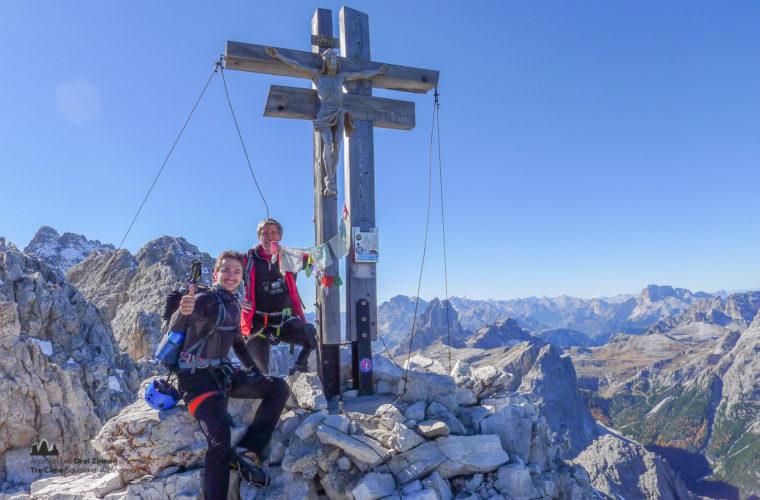 Klettersteig Rotwandspitze - via ferrata Croda Rossa-6
