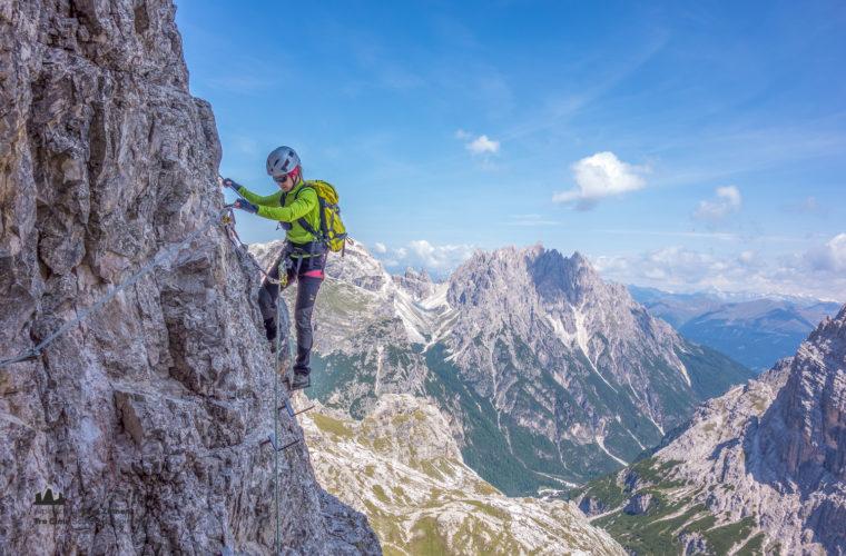 Klettersteig Toblinger Knoten - via ferrata Torre di Toblin-1
