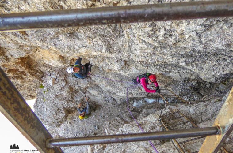 Klettersteig Toblinger Knoten - via ferrata Torre di Toblin-4