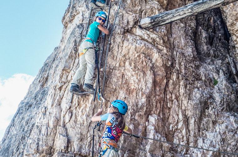 Klettersteig Toblinger Knoten - via ferrata Torre di Toblin-5