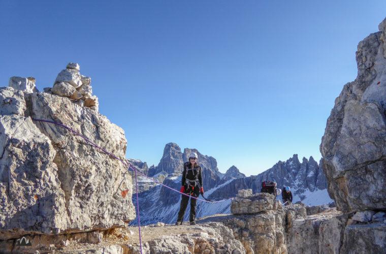 Klettersteig Toblinger Knoten - via ferrata Torre di Toblin-6