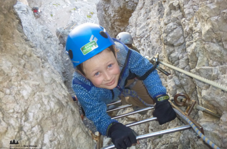 Klettersteig Toblinger Knoten - via ferrata Torre di Toblin-8