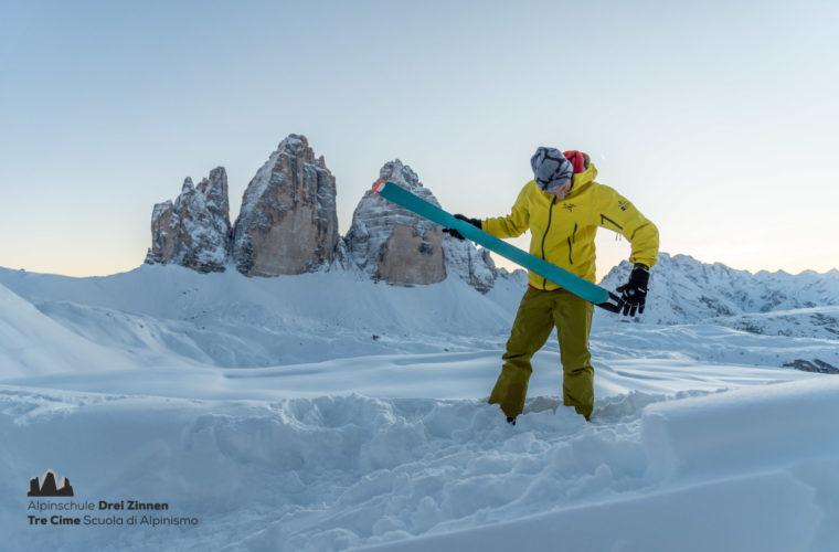 Skitour Sexten - sci alpinismo Sesto 2020 - Alpinschule Sexten (5)