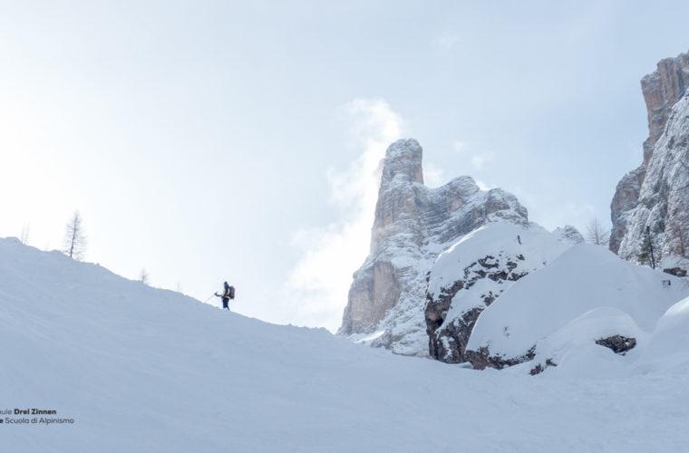 Skitour - sci d'alpinismo Dolomitendurchquerung-26