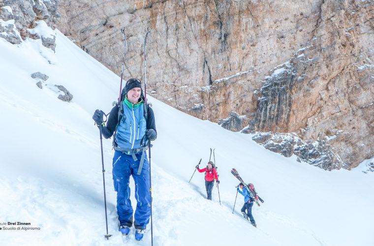 Skitour - sci d'alpinismo Dolomitendurchquerung-32