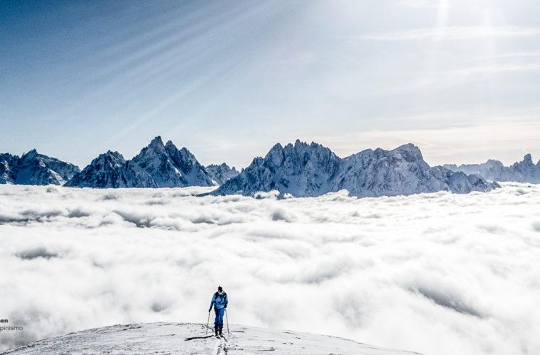 Skitour - sci d'alpinismo Dolomitendurchquerung-4