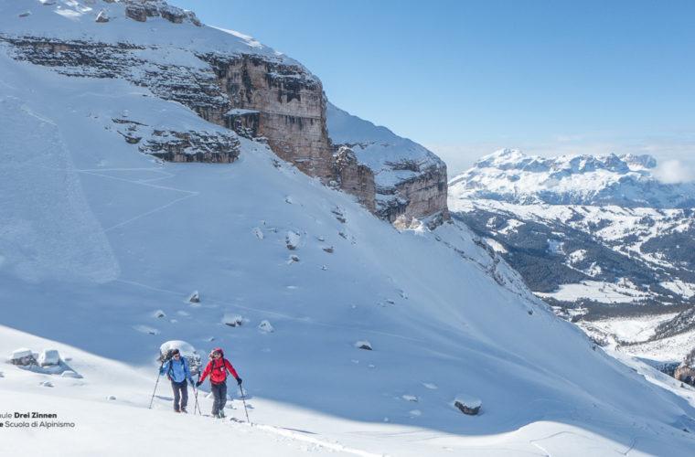 Skitour - sci d'alpinismo Dolomitendurchquerung-44