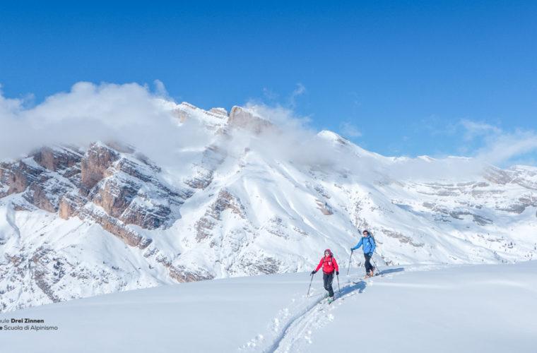 Skitour - sci d'alpinismo Dolomitendurchquerung-47