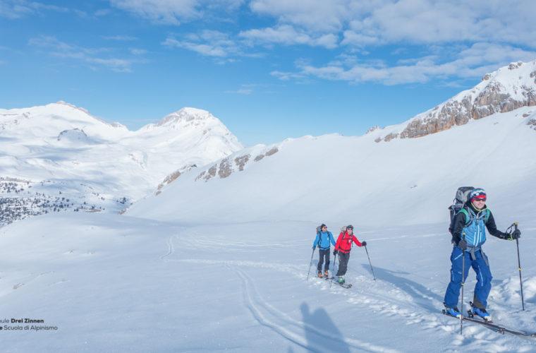 Skitour - sci d'alpinismo Dolomitendurchquerung-58