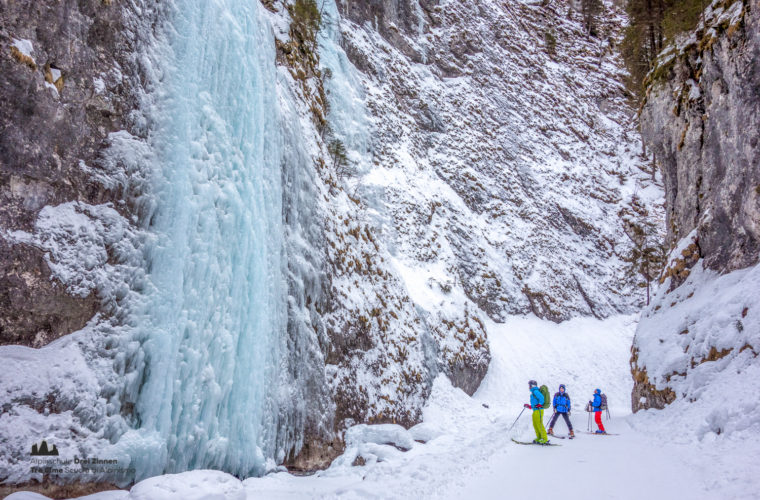 Skitour - sci d'alpinismo Dolomitendurchquerung-80