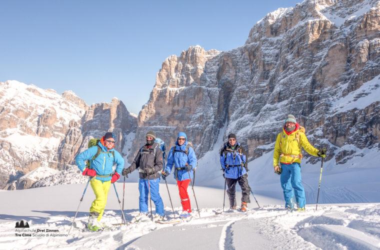 Skitour - sci d'alpinismo Dolomitendurchquerung-84