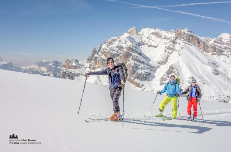 Skitour - sci d'alpinismo Dolomitendurchquerung-89