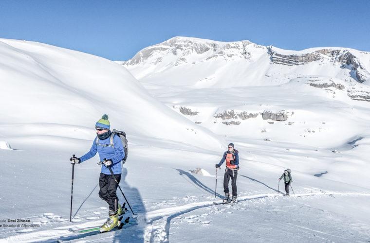 Skitour - sci d'alpinismo Dolomitendurchquerung-9