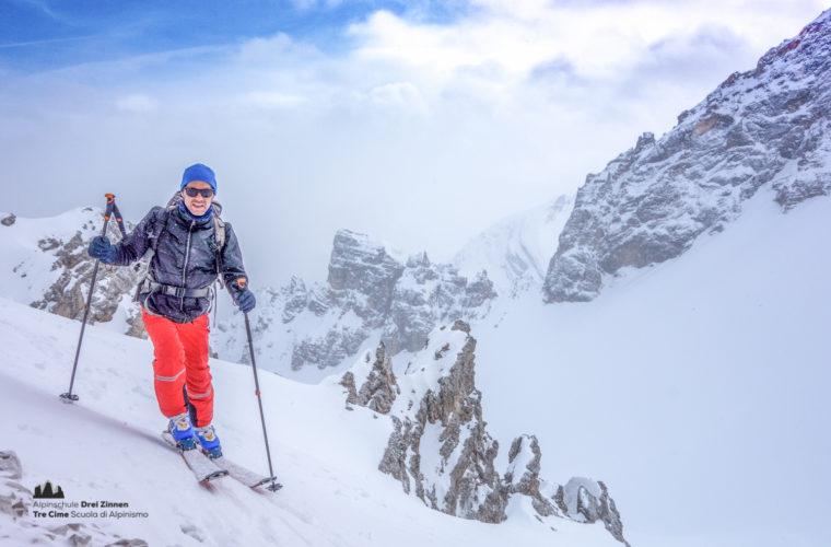 Skitour - sci d'alpinismo Dolomitendurchquerung-95