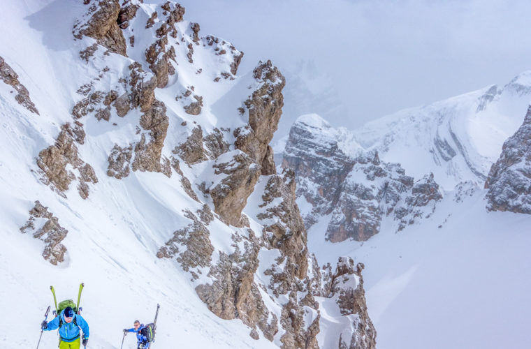 Skitour - sci d'alpinismo Dolomitendurchquerung-96