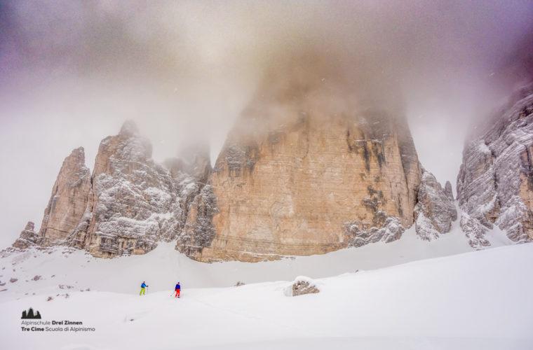 Skitour - sci d'alpinismo Dolomitendurchquerung-98