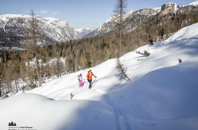Skitour - sci d'alpinismo Drei Zinnen Tre Cime-15
