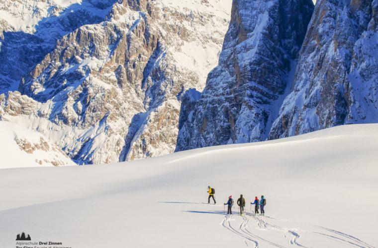 Skitour - sci d'alpinismo Drei Zinnen Tre Cime-20