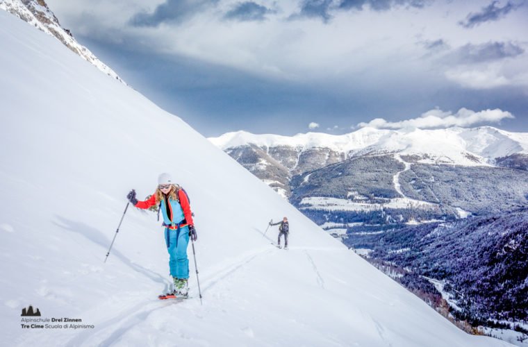 Skitour - sci d'alpinismo Drei Zinnen Tre Cime-21