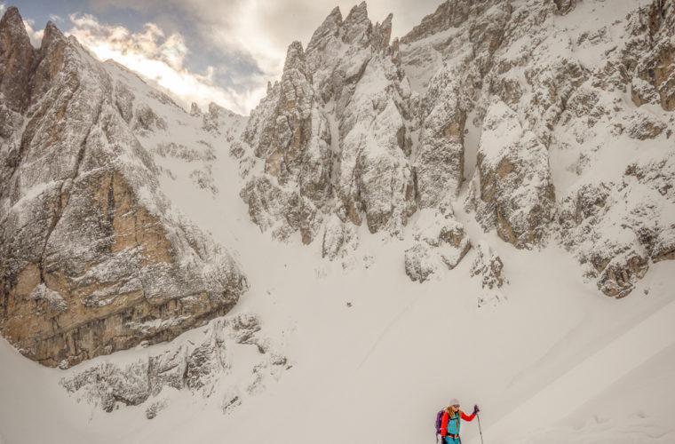 Skitour - sci d'alpinismo Drei Zinnen Tre Cime-22