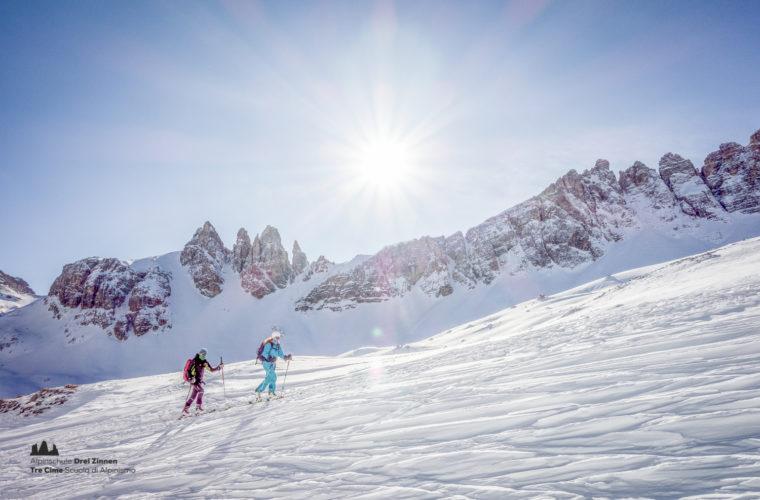 Skitour - sci d'alpinismo Drei Zinnen Tre Cime-24