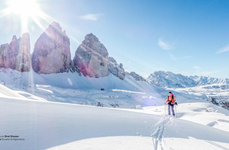 Skitour - sci d'alpinismo Drei Zinnen Tre Cime-25