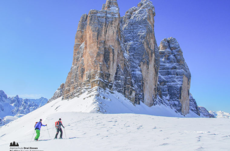 Skitour - sci d'alpinismo Drei Zinnen Tre Cime-27