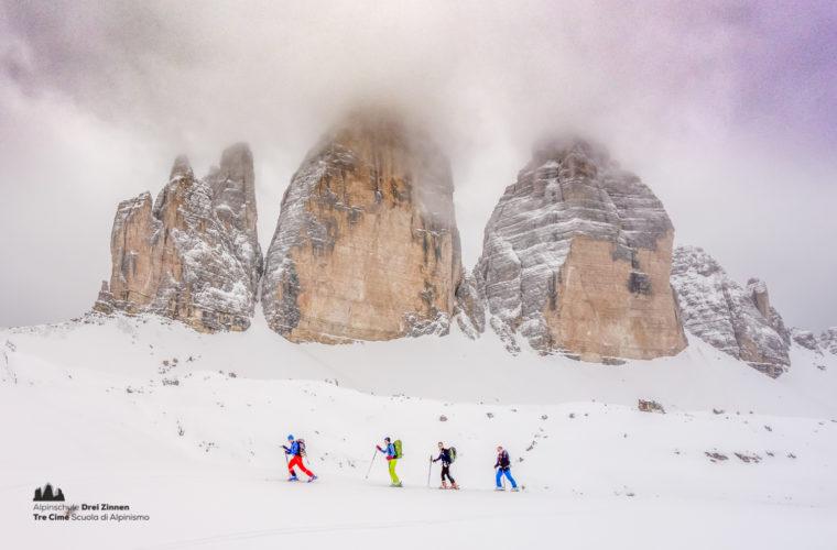 Skitour - sci d'alpinismo Drei Zinnen Tre Cime-28