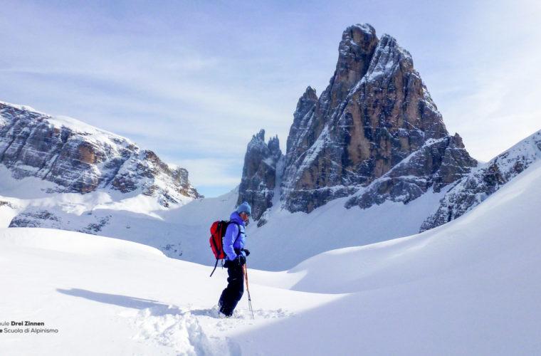 Skitour - sci d'alpinismo Drei Zinnen Tre Cime-4
