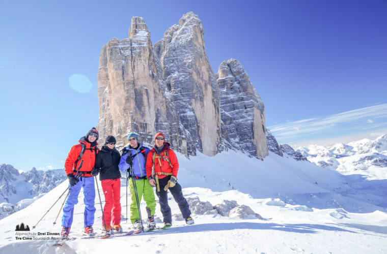 Skitour - sci d'alpinismo Drei Zinnen Tre Cime-7