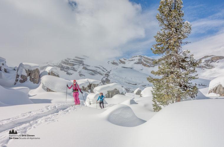 Skitour - sci d'alpinismo Hochpustertal-21