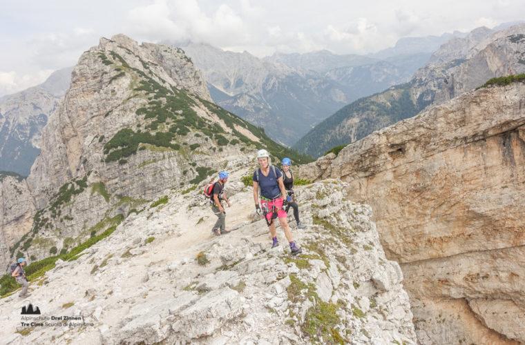 via ferrata Fiames-Strobl Klettersteig Alpinschule Drei Zinnen-11
