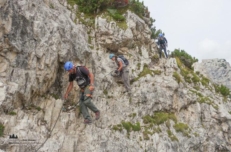 via ferrata Fiames-Strobl Klettersteig Alpinschule Drei Zinnen-13