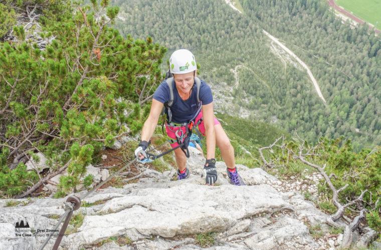via ferrata Fiames-Strobl Klettersteig Alpinschule Drei Zinnen-2