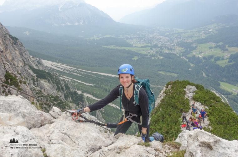 via ferrata Fiames-Strobl Klettersteig Alpinschule Drei Zinnen-7
