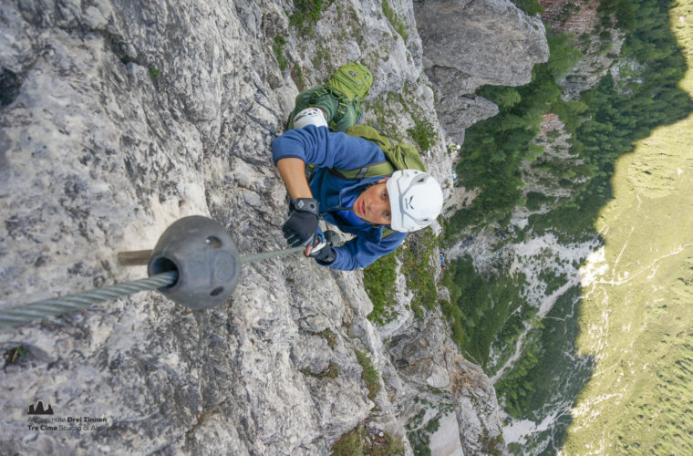 via ferrata sci club 18 Klettersteig Alpinschule Drei Zinnen (14)