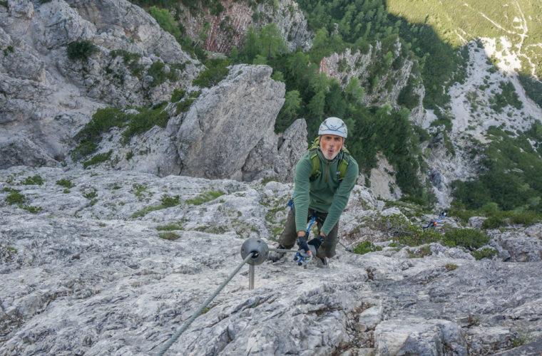 via ferrata sci club 18 Klettersteig Alpinschule Drei Zinnen (17)