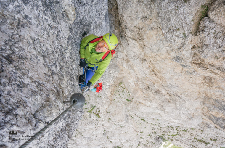 via ferrata sci club 18 Klettersteig Alpinschule Drei Zinnen (23)
